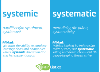 Systemic vs. systematic
